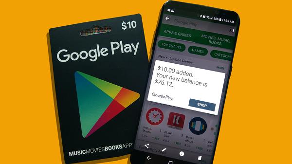 بطاقات قوقل بلاي مجانا بدون برامج 2019