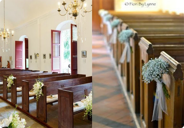 decor simples igreja