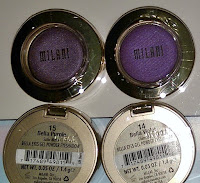 best pigmented purple eyeshadow MILANI Violet makeup tutorial drugstore haul