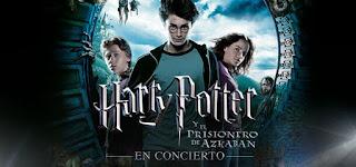Harry Potter EL PRISIONERO DE AZKABAN en concierto