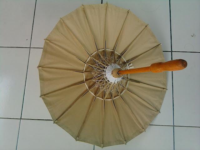 Payung dari bambu