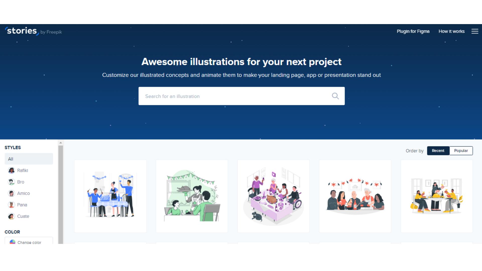 Stories by Freepik free illustration resource