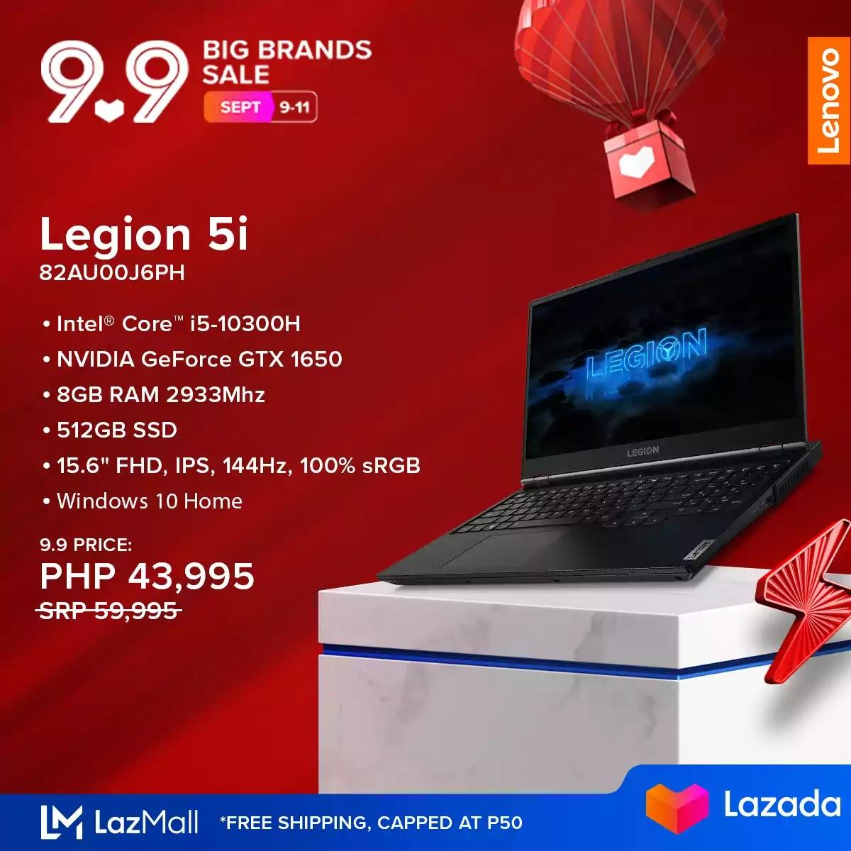 Lenovo Legion 5i 82AU00J6PH