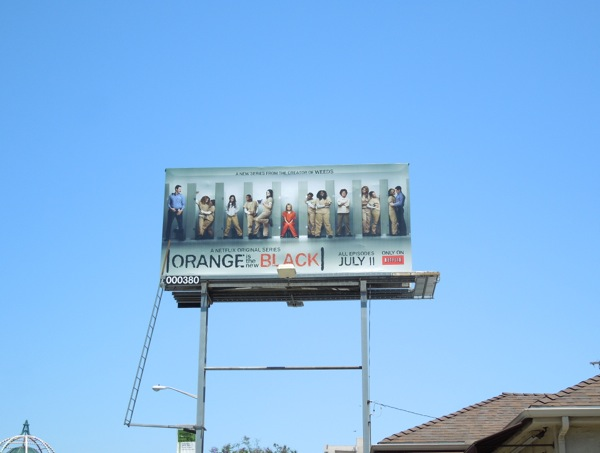 Orange Is New Black billboard