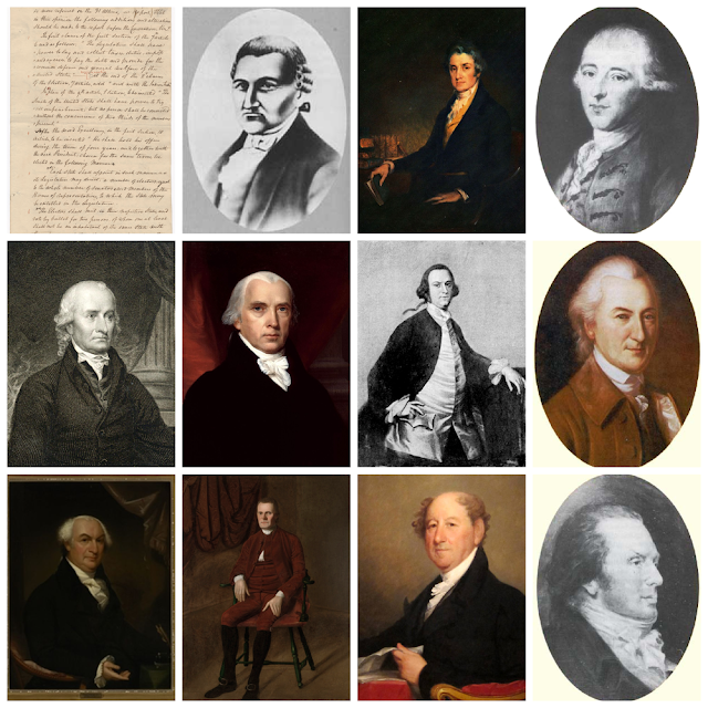 These 11 men agreed on a compromise that created the Electoral College. The Conversation, from Wikimedia Commons, CC BY-ND