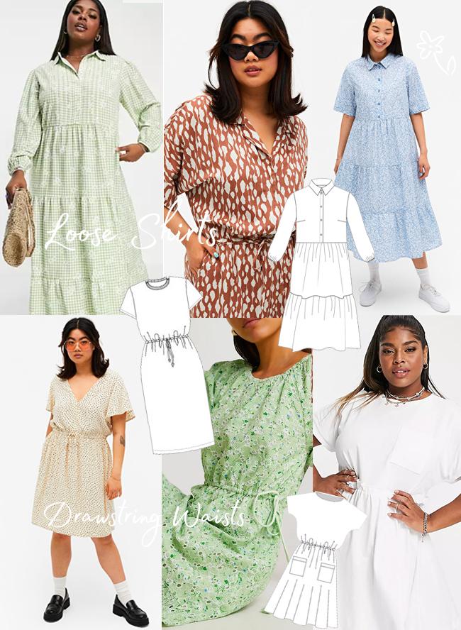 Sewing For The Season - Summer! Loose Shirts & Drawstring Waists