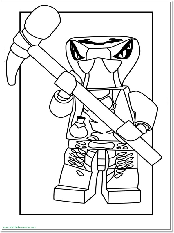 Ninjago Schlange Malvorlagen Ausmalbilder Ninjago