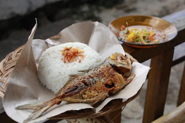 Nasi Ikan Koci Sambal Dabu-dabu