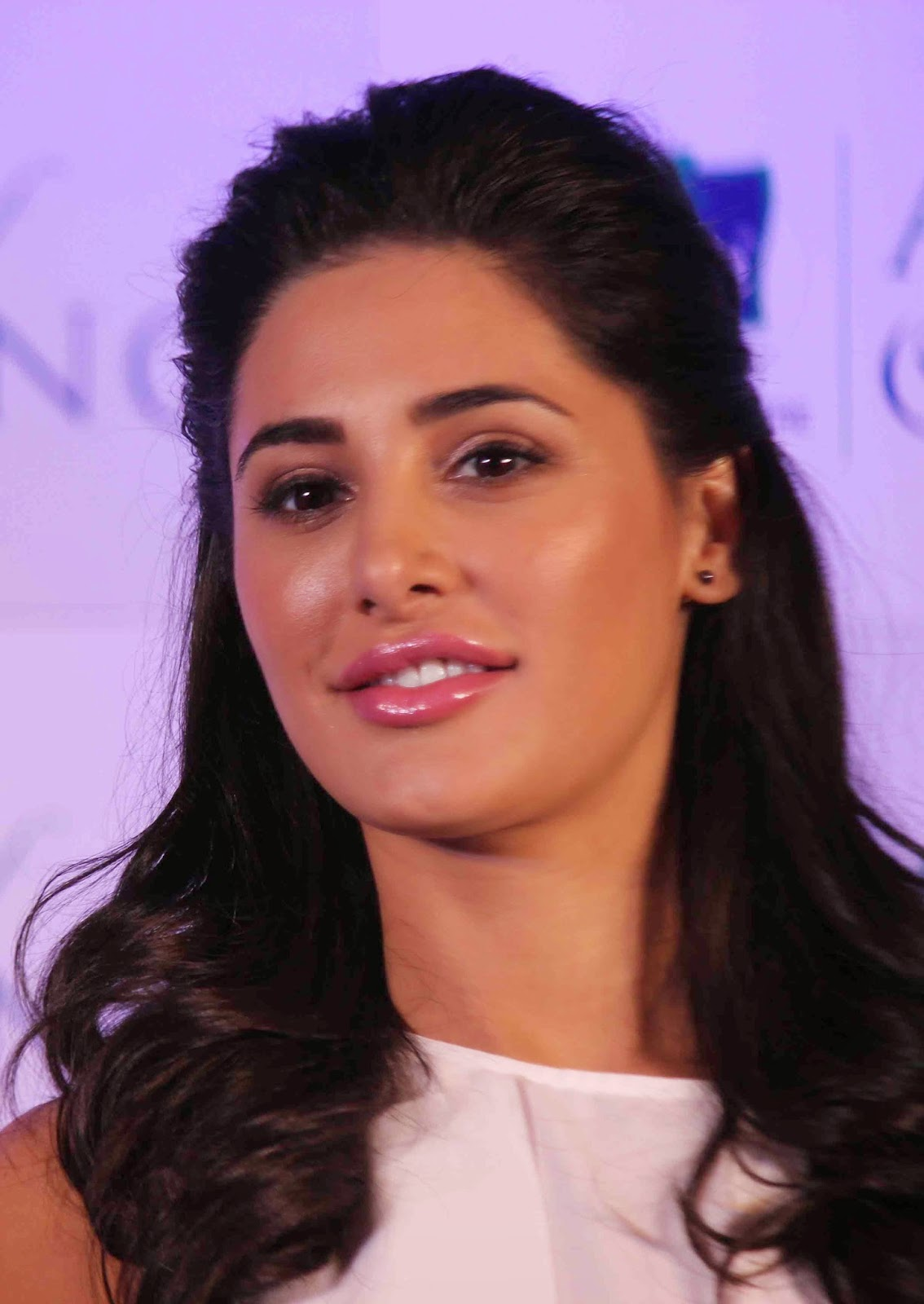 Glamorous Nargis Fakhri Hot Photos In White Dress