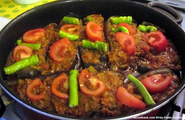 طبق الباذنجان على الطريقة التركية