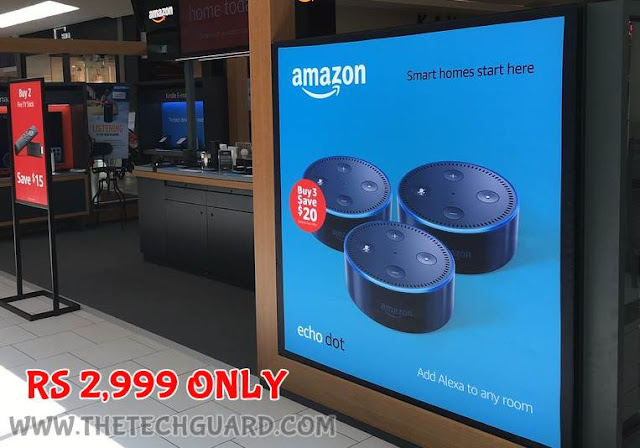 Comparison of Alexa Echo or Alexa Echo Dot