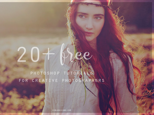 20+ Free Photoshop Tutorials for Creative Photographers