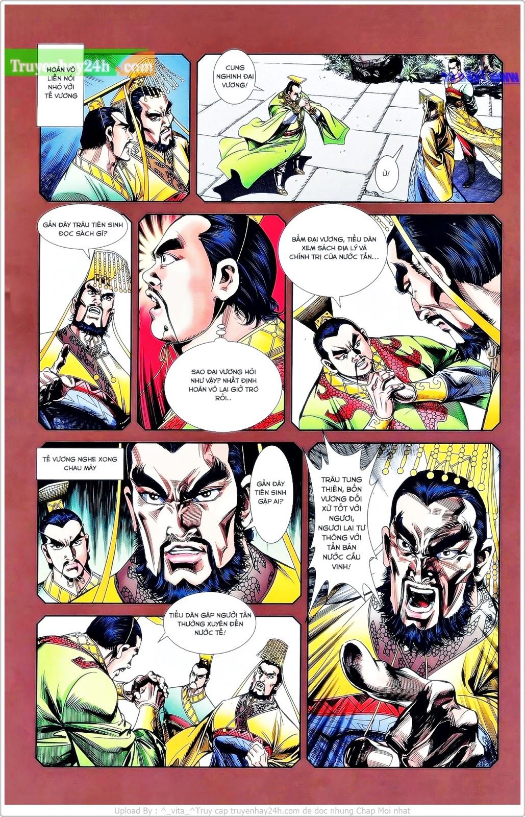 Tần Vương Doanh Chính chapter 25 trang 6