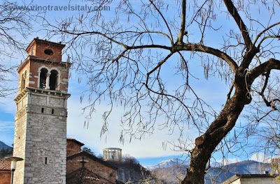 town of Trento in Trentino