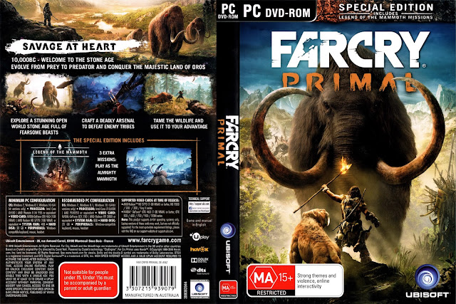 Far Cry Primal Special Edition full download