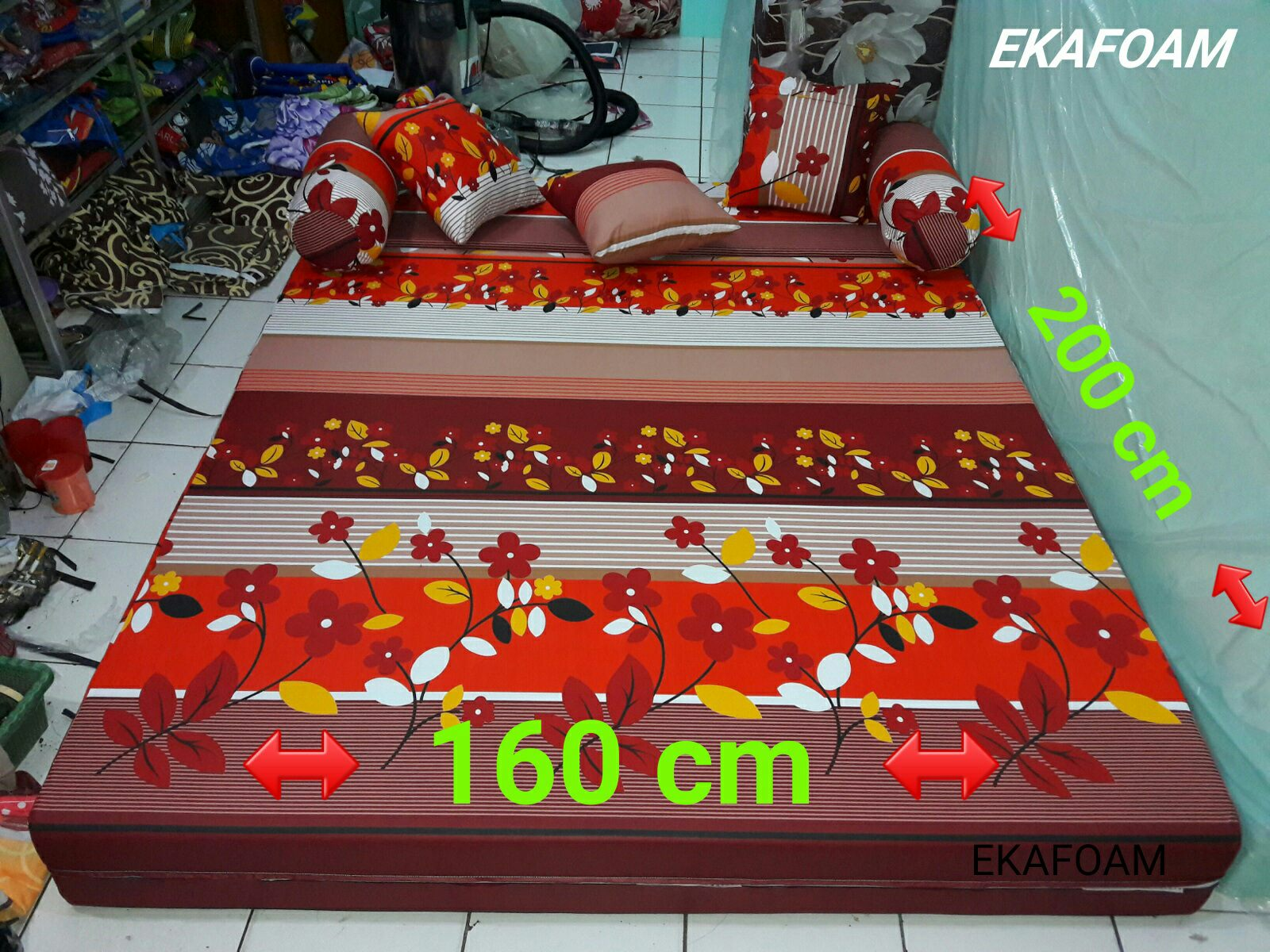 harga sofa bed inoac cikarang designs of wooden sets india kasur busa terbaru 2018 agen resmi