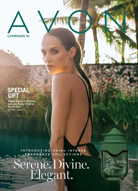 AVON Campaign 10 Brochure 2021 Online - Serene Divine Elegant!