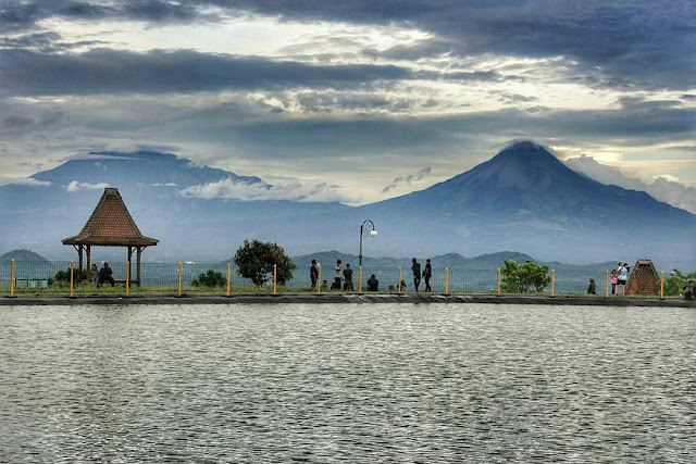 Wisata View Gunung Merapi