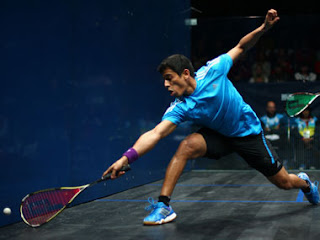 Spotlight :  Saurav Ghosal Drubs Nicolas Mueller For Title