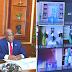 Félix Tshisekedi a assisté, ce lundi 04 octobre par visioconférence, à la 4ème réunion du bureau de la conférence des chefs d'États et de gouvernement de l'UA
