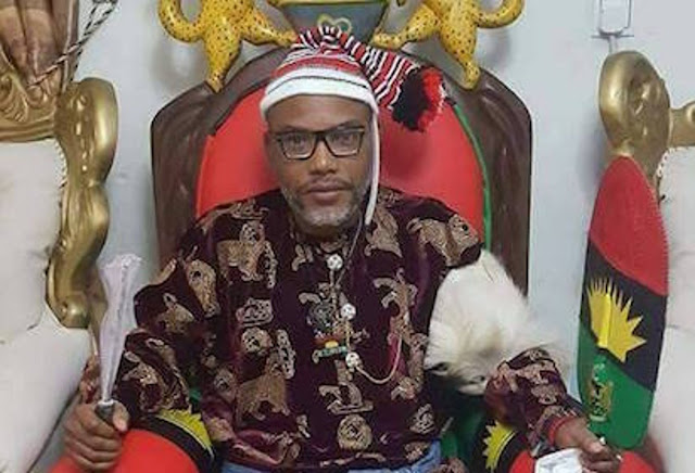 Is Nnamdi Kanu Trying To Become The President Of Biafra? This is What He Has To Say