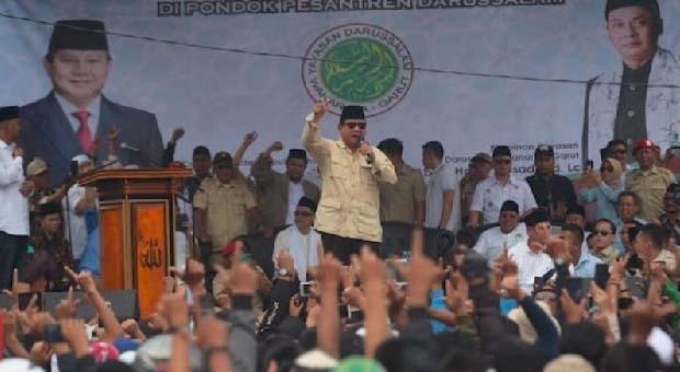Begini Alasan Prabowo Subianto Maju Pilpres 2019
