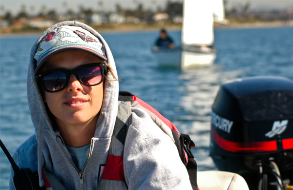 MBAC Sailing Instructor Laura Coleman