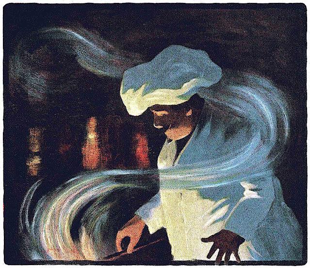 1903 chef illustration