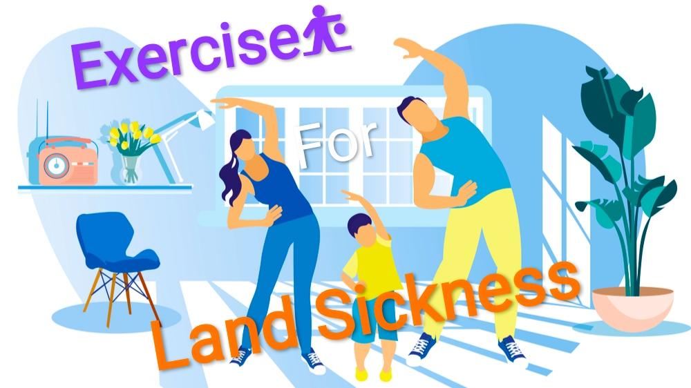 land sickness cure