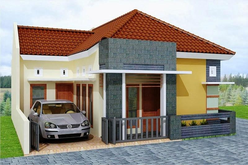 Gambar Rumah Minimalis Sederhana Elegan 1 Lantai Terbaru