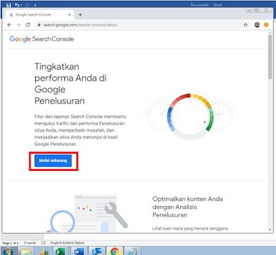 Cara Melakukan Verifikasi Property Di Google Console Terbaru