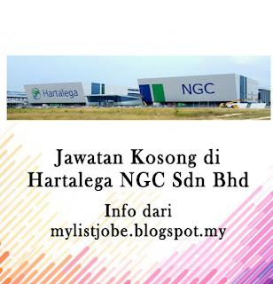 Jawatan Kosong Terkini di Hartalega NGC Sdn Bhd