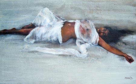 CHINAR SHADE : RENOWNED BANGLADESHI PAINTER SHAHAB UD DIN ...