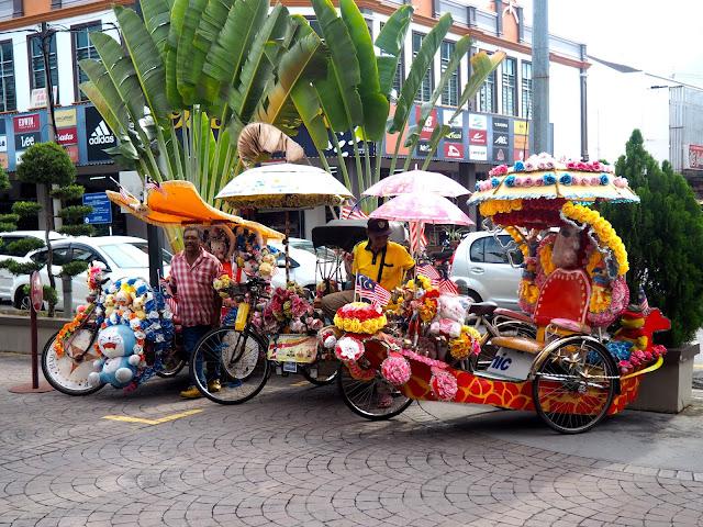 Trishaws, Melaka, Malaysia