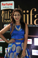 Madhu Shalini Looks Super Cute Slim trim Blue Choli Ghagra IIFA Utsavam Awards 032.JPG