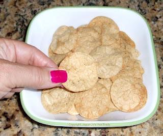 Kashi Hummus Crisp Sea Salt & Olive Oil in a bowl