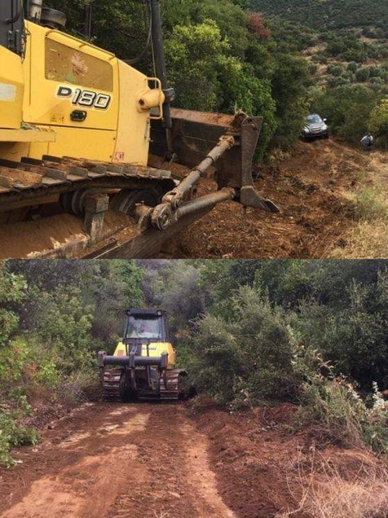 Δήμος Στυλίδας: Πραγματοποιήθηκαν εργασίες συντήρησης αγροτικής ορεινής οδοποιίας