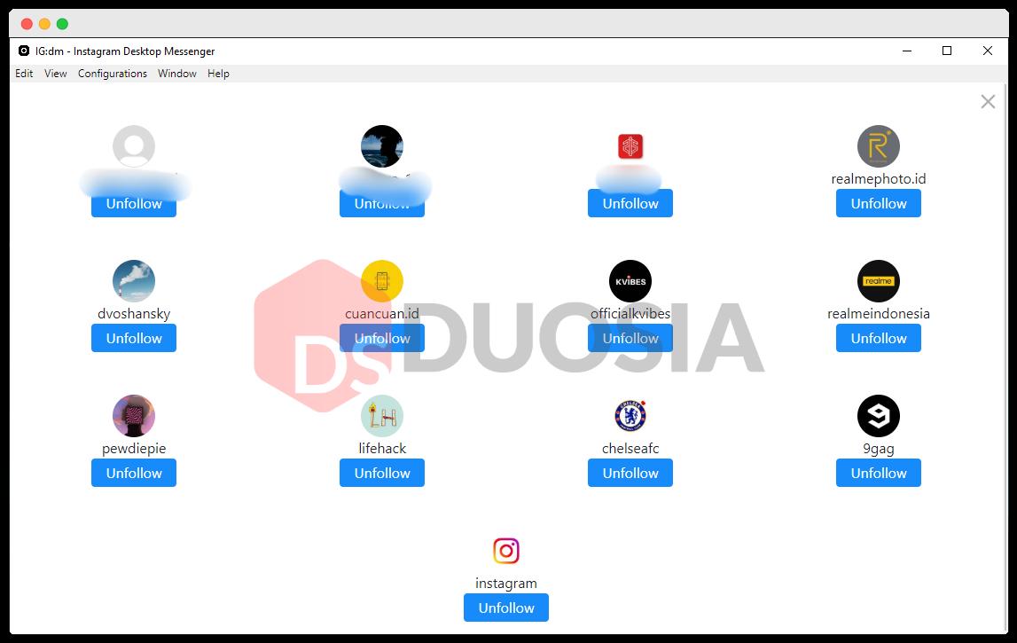 Instagram Direct Message 3.0.0 - Duosia