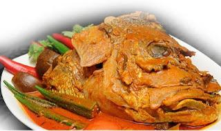 Resep Gulai Kepala Ikan Kakak Ala Restoran