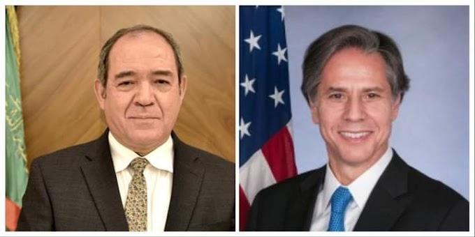 🔴 El Ministro de Exteriores argelino se reúne con el Secretario de Estado estadounidense; la cuestión saharaui en el centro de las discusiones.