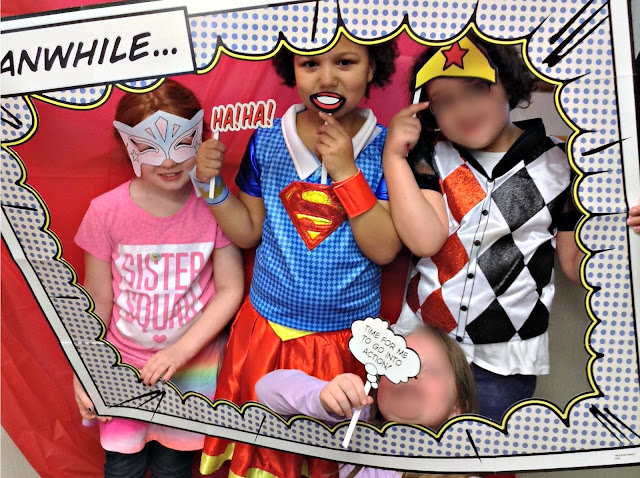 Superhero party for all!