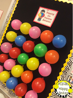 Behavior Management Strategies, Balloon Pop, Planet Happy Smiles