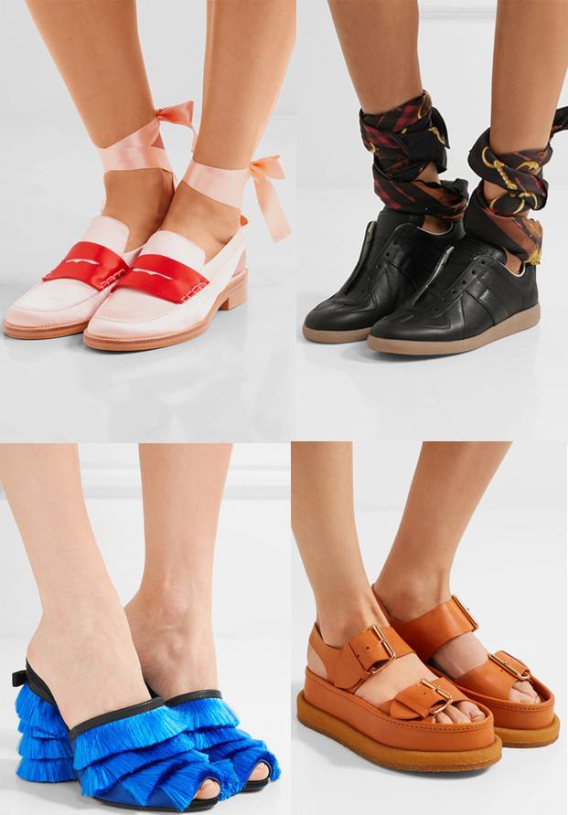 Zapatos primavera verano 2017