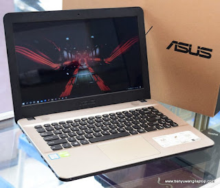 Jual Laptop Gaming ASUS X441U Core i3 NVIDIA Fullset - Banyuwangi