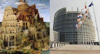 Torre di Babilonia - Parlamento Europeo Strasburgo