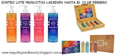 Sorteo de un lote de productos Laiseven.