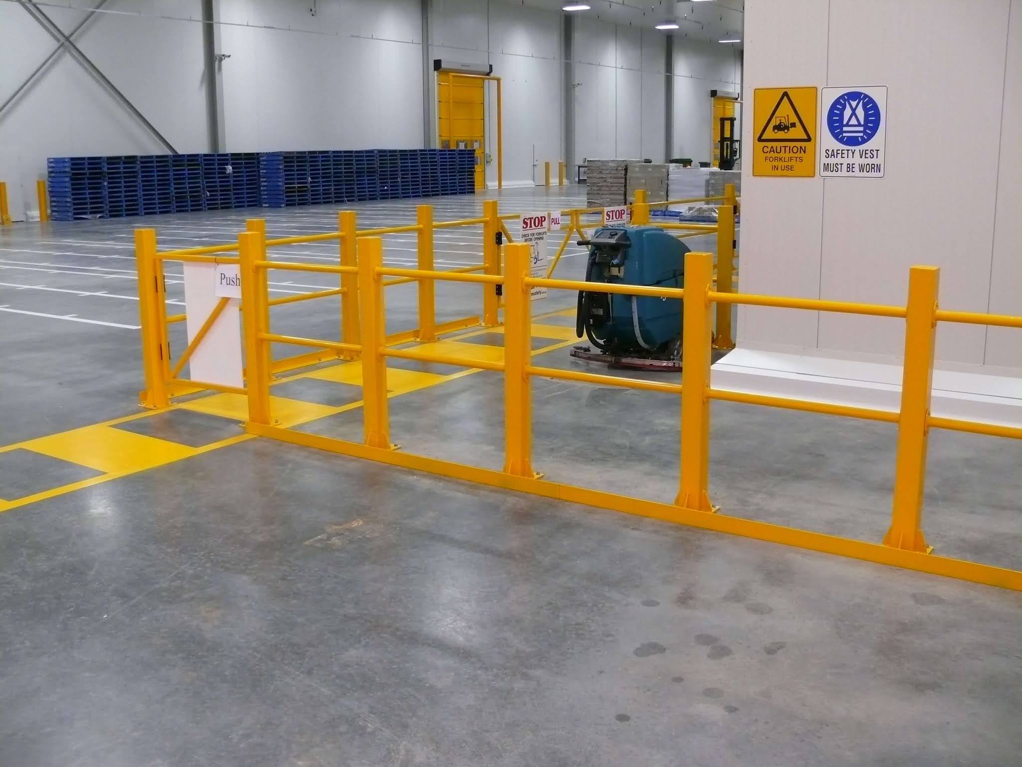 safety barriers tips