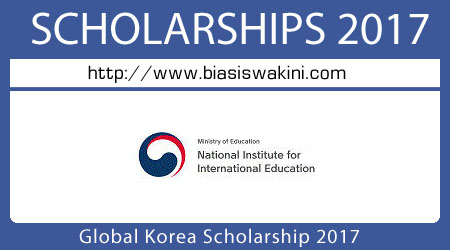 Global Korea Scholarship 2017