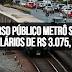 CONCURSO PÚBLICO METRÔ SP 2019: Vagas com salários de R$ 3.075,16!