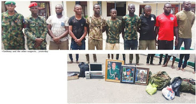 Arrested Suspect: I deserted Army for fear of Boko Haram